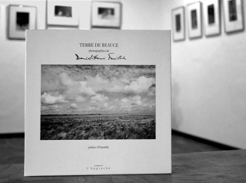 photographie du livre Terre de Beauce présenté dans la galerie