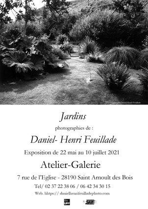 Affiche de l'exposition jardin